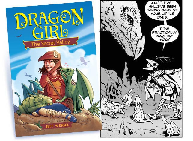 dragon girl book